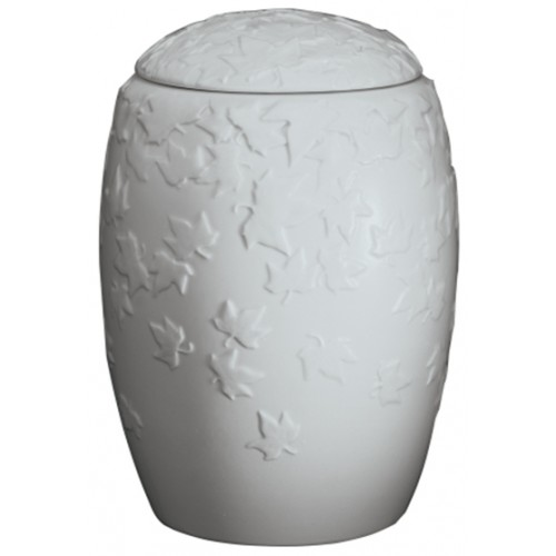 Autumn Lune Porcelain Cremation Ashes Urn