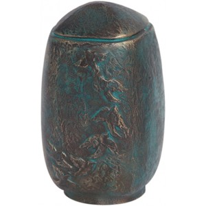 Ciconia Bronze Urn