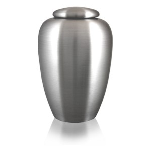Classic Pewter Urn - Upload your own Logo