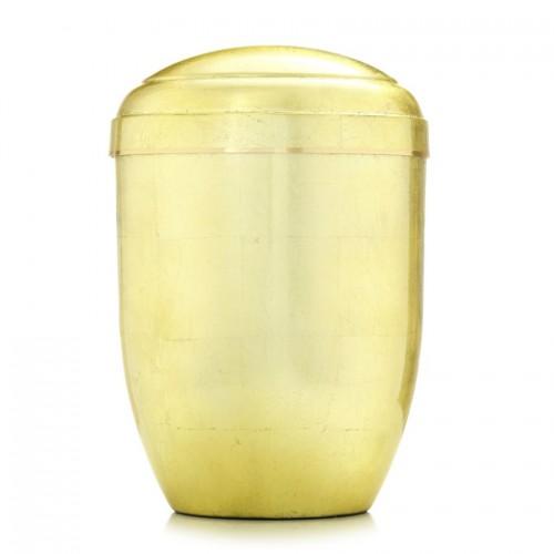 Golden Leaf Urn