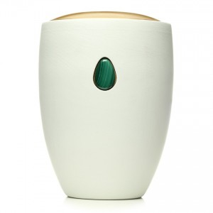 Malachite Green Gem Urn