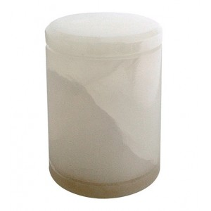 Saturina White Alabaster Keepsake