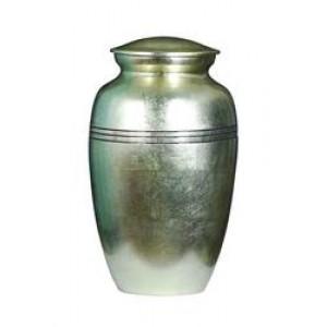 Aluminium Urn (Gold)