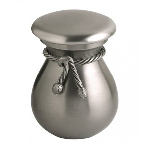 Pewter Keepsake with Decorative Cord