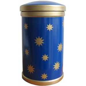 Stars Porcelain Cremation Ashes Urn