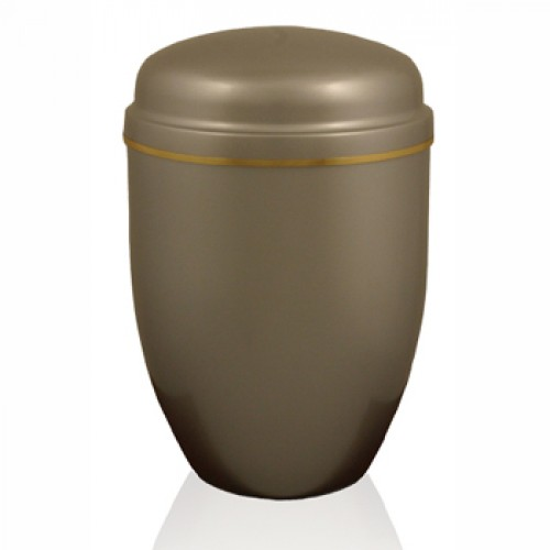 The Corris Silver Steel Urn - FREE ENGRAVING when you order this product