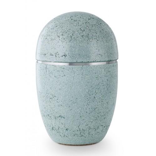 Steel Urn (Artificial Stone Design – Green)