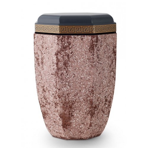 Steel Urn (Artificial Stone Coating – Red)