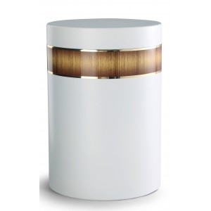 Mediterranean Edition Wood Line Cremation Ashes Urn – SUNBURST