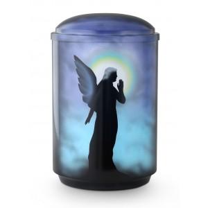 Steel Urn (Cherub)