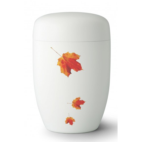 Fall in Leaves – Exclusive Series - Cremation Ashes Urn – INDIAN SUMMER