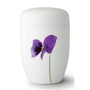 Fall in Leaves – Exclusive Series - Cremation Ashes Urn – SPRING TIME PANSY