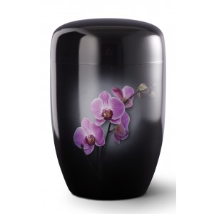 Fall in Leaves – Series Fleur Noire - Cremation Ashes Urn – ORCHID