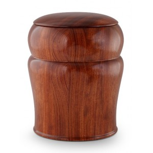 Rosewood (High Gloss) Cremation Ashes Urn (Made with Love)