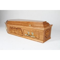The Last Supper Coffin - HUGE PRICE SAVINGS