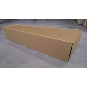 Autumn Gold Cardboard Coffin   -  ***LOWEST PRICES***- Next Day Delivery