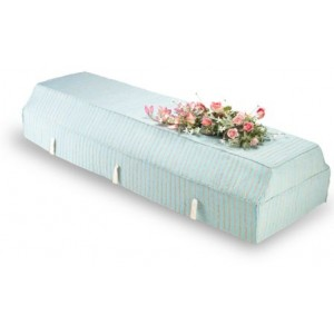 Environ Casket with Blue Fragrant Root Cover