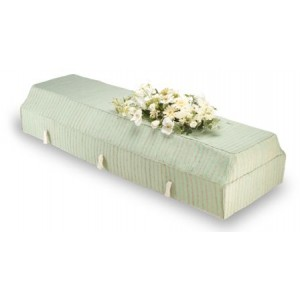 Environ Casket with Green Fragrant Root Cover