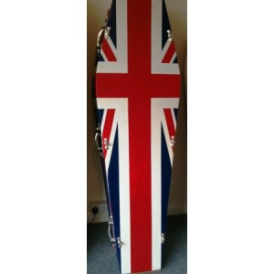 Union Jack Coffin    -    Buy Coffins Direct