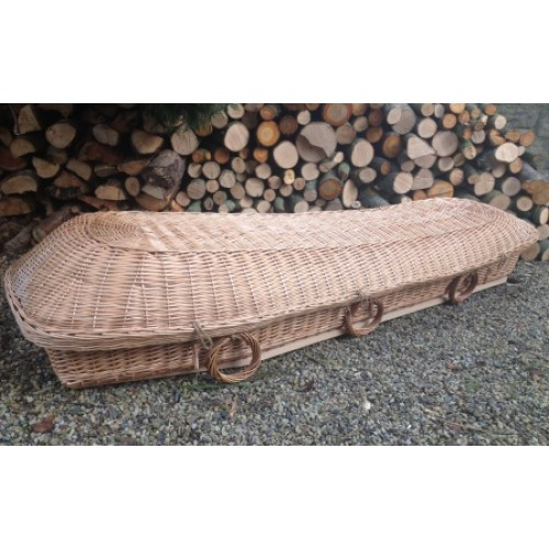 Wicker Angel Style Coffin - COMPARE THE COFFIN