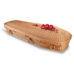 Willow Pod Style Coffin – 100% NATURAL MATERIALS