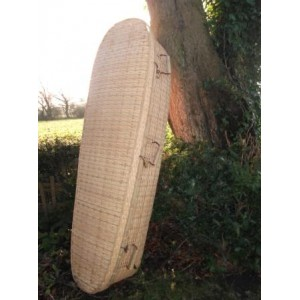 Bamboo (Oval) Coffin. NATURAL ECO COFFINS