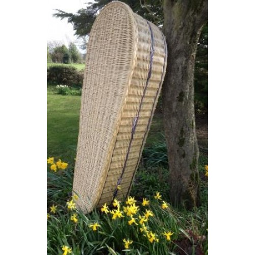 Wicker (Oval) Coffin - Beautiful Natural Products at Discount Prices