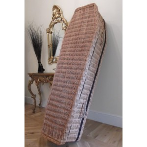 Autumn Gold  Wicker/Willow -  Low Cost Eco Coffins