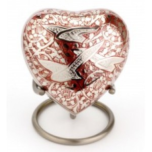 Heart Keepsake (Althorp Red Heart UU410001F) Token Ashes