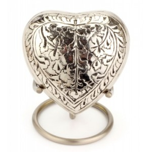 Heart Keepsake (Banbury Nickel Heart UU410001L) Token Ashes