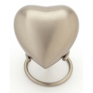 Heart Keepsake (Classic Pewter Heart UU410001A) Token Ashes