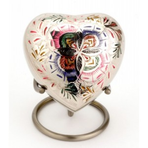 Heart Keepsake (Farnham Flower Heart UU410001H) Token Ashes