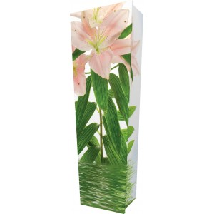 Lily Beauty… - Personalised Picture Coffin with Customised Design.