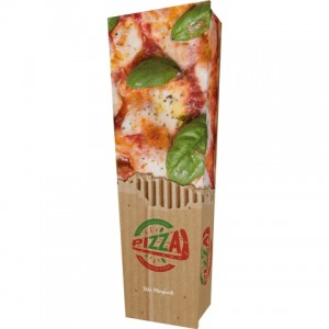 Hot Italian Pizza (Express Fast Food) - Personalised Picture Coffin with Customised Design