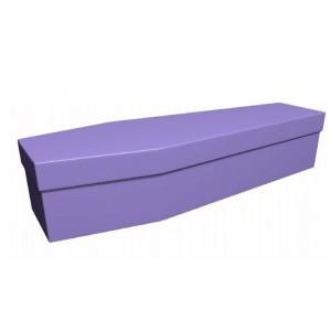 Premium Cardboard Coffin – CALM LILAC