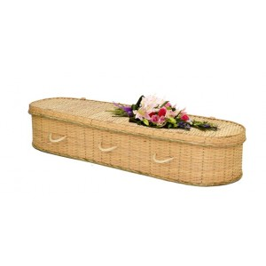 Bamboo Imperial Eco Elite (Oval Style) Coffin – Personal Tribute To A Loved One