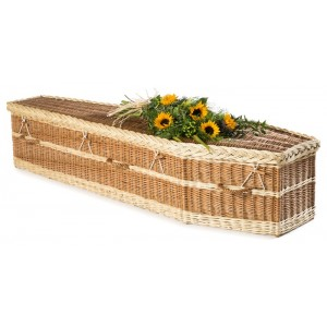 English Willow Imperial Traditional (Buff & Lighter Natural Wicker) - **Handmade in the UK**