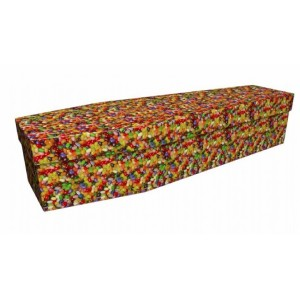 Jelly Beans – Abstract & Creative Design Picture Coffin