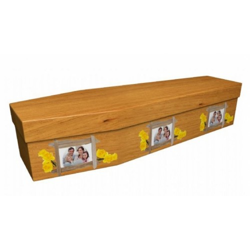 Family Pictures – Abstract & Creative Design Picture Coffin