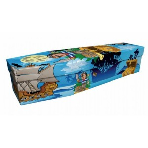 The Buccaneer Pirate – Abstract & Creative Design Picture Coffin
