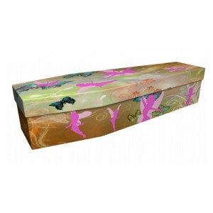 Magical Fairy – Abstract & Creative Design Picture Coffin