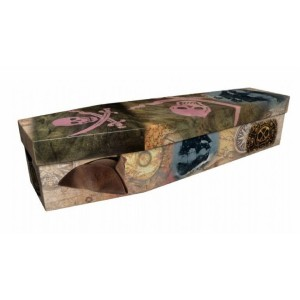 Pirates (Jolly Roger) – Abstract & Creative Design Picture Coffin
