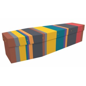 Colourful – Abstract & Creative Design Picture Coffin