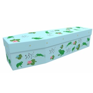 Freddy the Frog - Animal & Pet Design Picture Coffin
