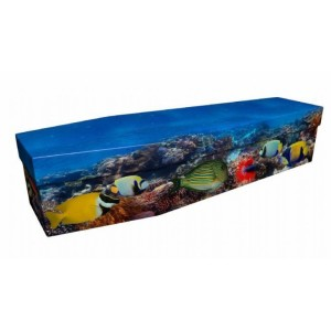 The Reef - Animal & Pet Design Picture Coffin