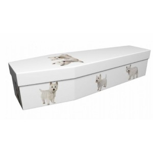 Westie - Animal & Pet Design Picture Coffin