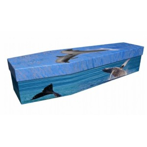 Oceans Mighty Harmonists (Spirit of the Seas) - Animal & Pet Design Picture Coffin