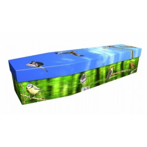 Summer Birds – Animal & Pet Design Picture Coffin
