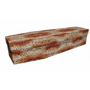Leopard Spots - Animal & Pet Design Picture Coffin