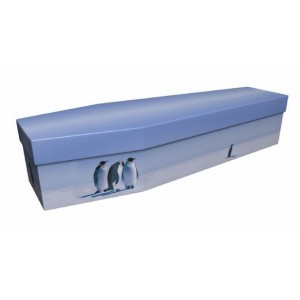 Penguin – Animal & Pet Design Picture Coffin